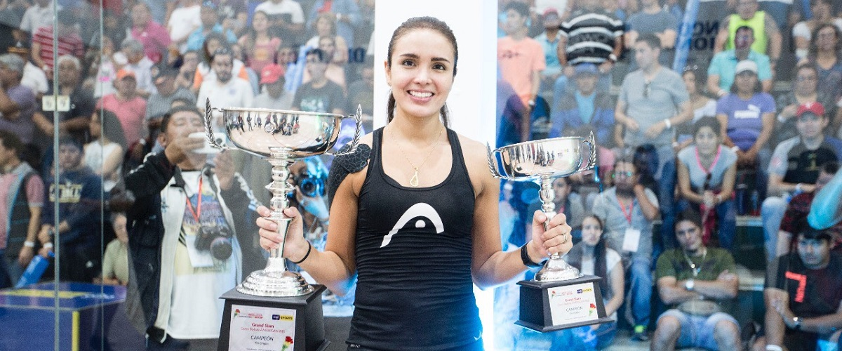 HEAD Penn's Maria Jose Vargas wins Racquetball Grand Slam in Bolivia